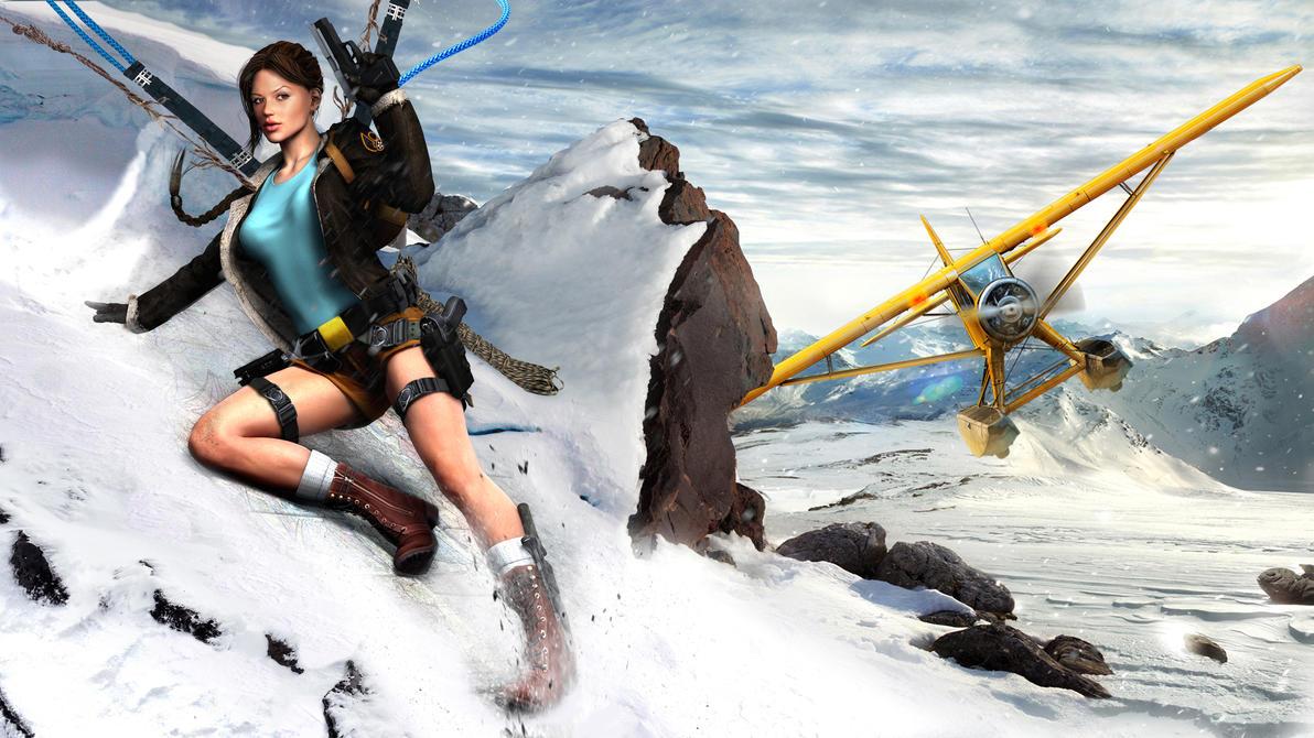 Lara Croft - Tibetan hills by Croft094