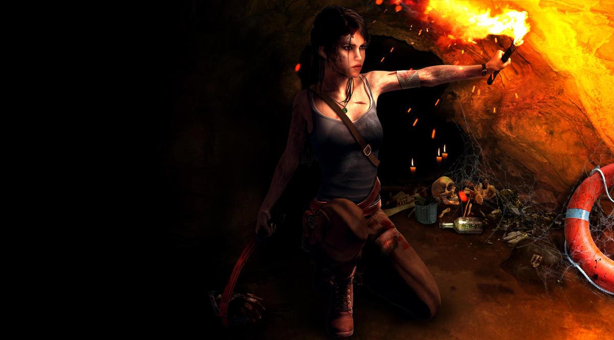 Lara Croft - Den of robbers by Croft094