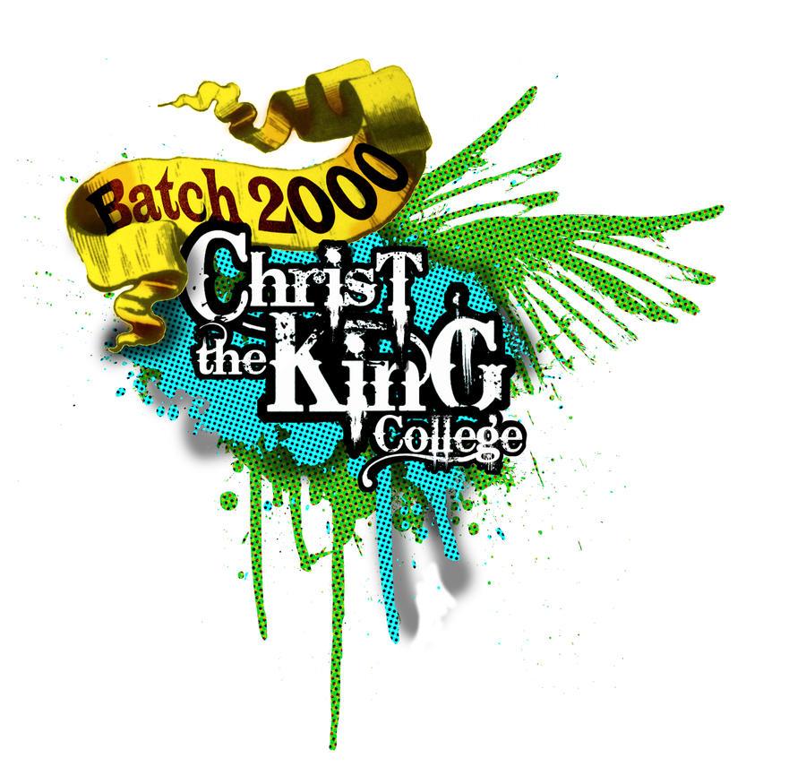 christ the king alumni tshirt design by nelyang17 on