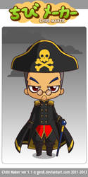 ChibiMaker Commissar Ioannis by BasileusIoannis