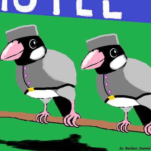 Bird Bellhops by BasileusIoannis