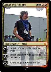 MTG Aldar the Hellorg