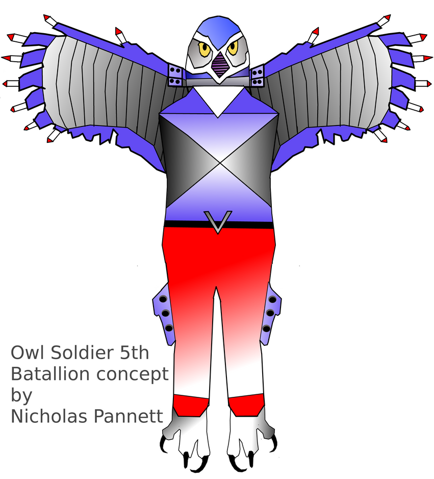 Owlsoldier 5th batallion Concept by dmonhunter35
