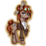 Custom steampunk mare