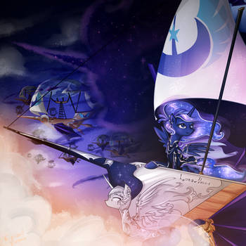 Live on the vessel of the Lunar pirate by YuntaoXD