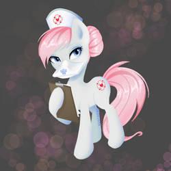 Nurse Redheart commission