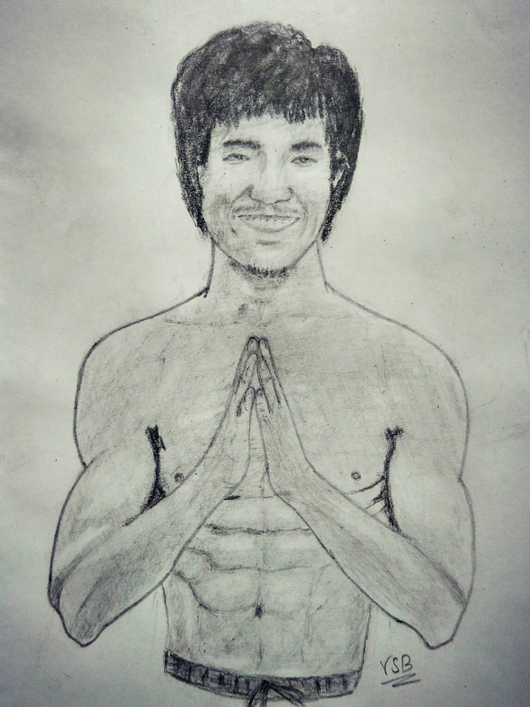 Bruce Lee by vickeey08