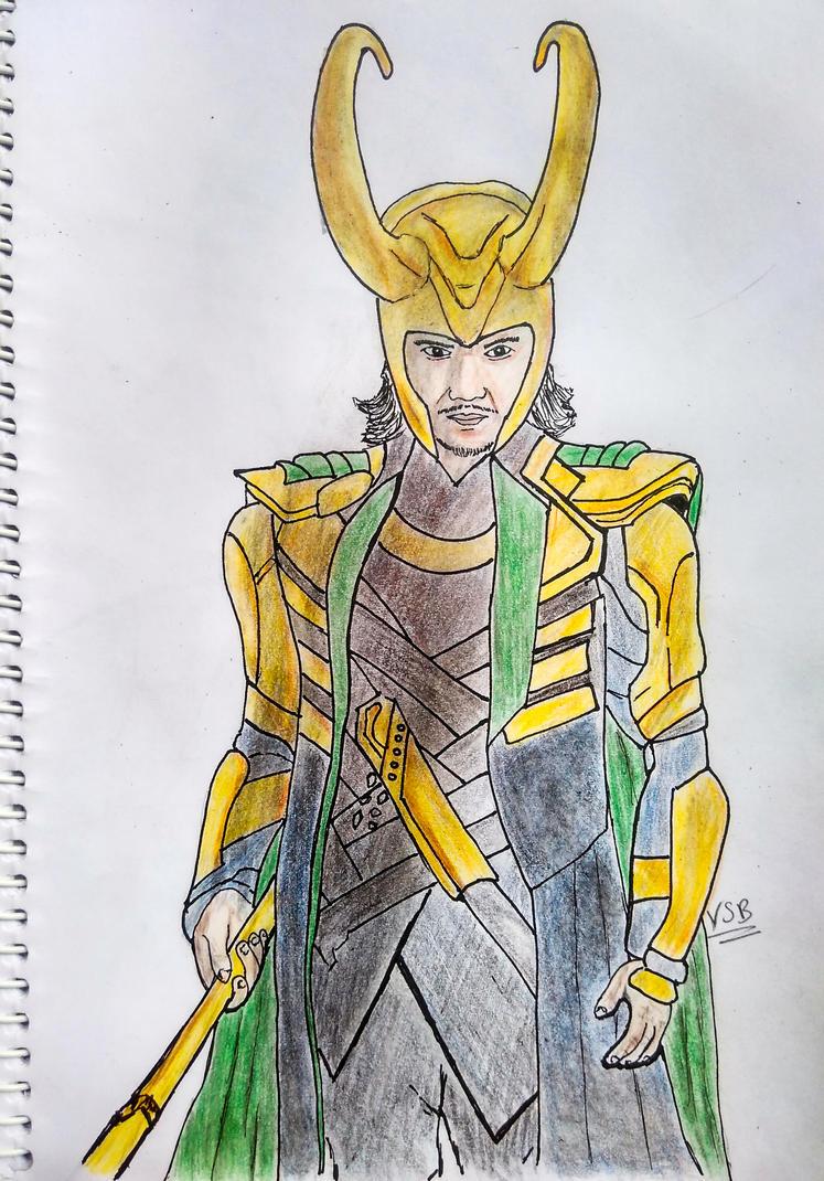 Loki by vickeey08