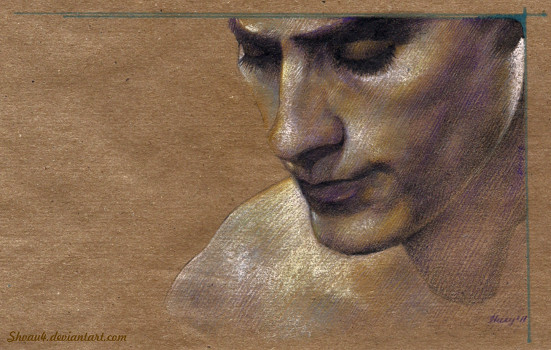 Jared Leto- Unexpected Colours by shvau4