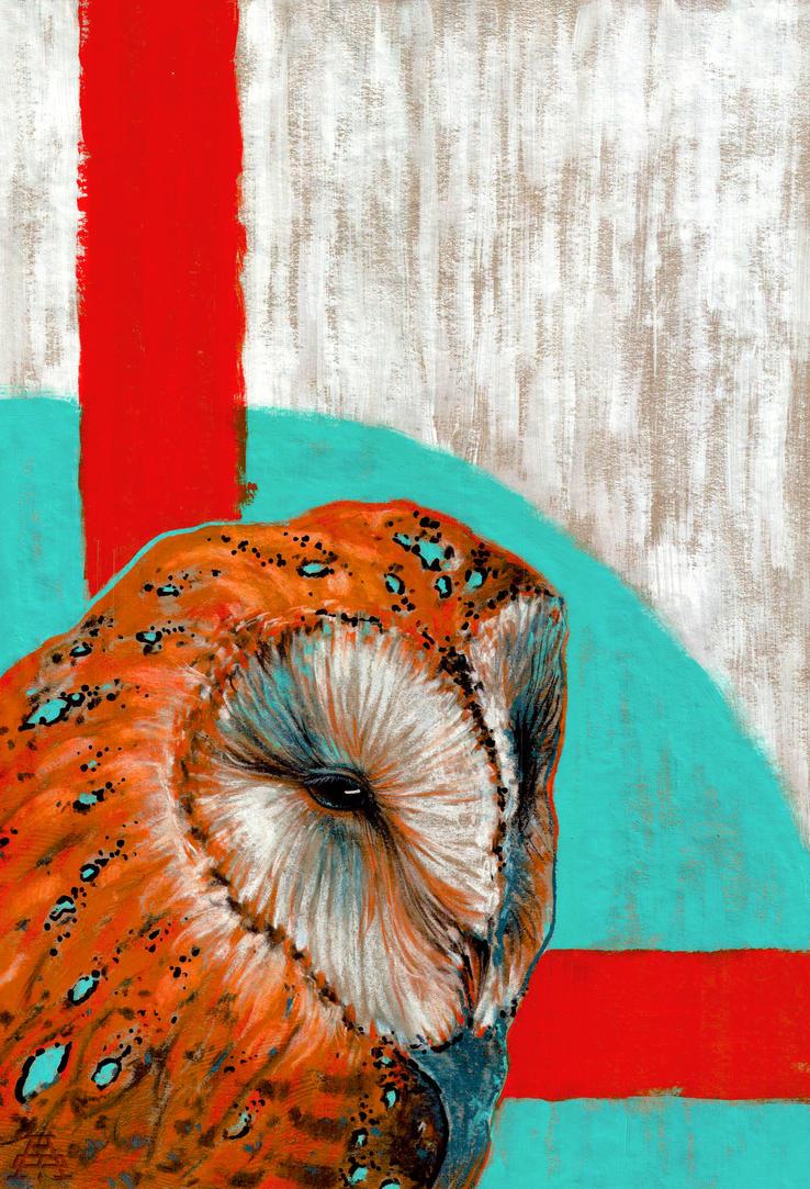 Barn owl series - 2 by shvau4