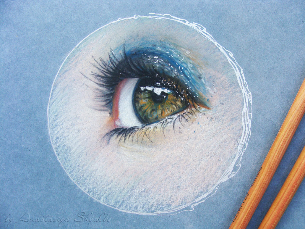 Eye study by shvau4