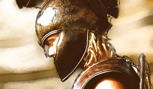 Achilles played by Brad Pitt