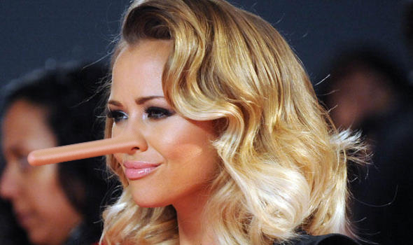 Kimberley Walsh Nose Growth Request by nexus-9