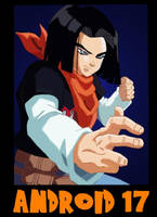 Android 17 by rubygloommel
