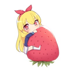 Strawberry Day by MaidForge