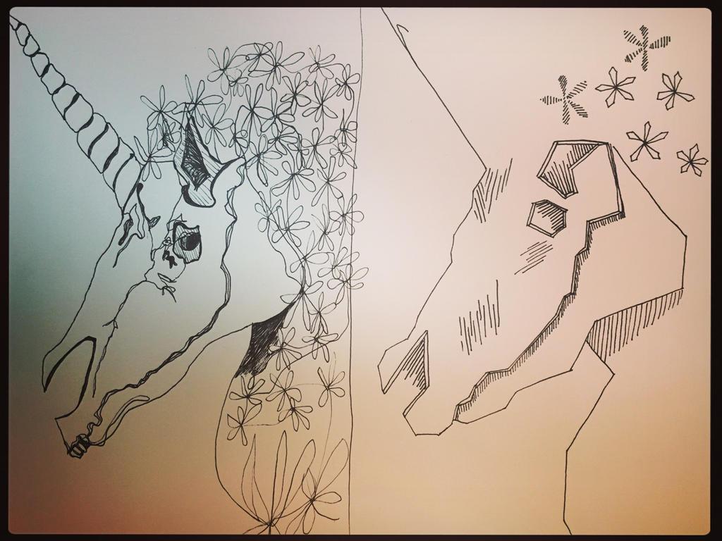 The Last Unicorn by AMusingPrentice
