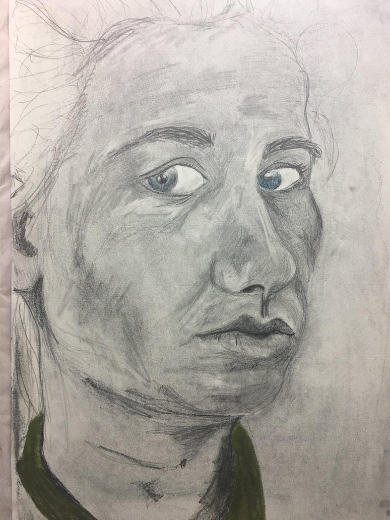 Self portrait  by AMusingPrentice