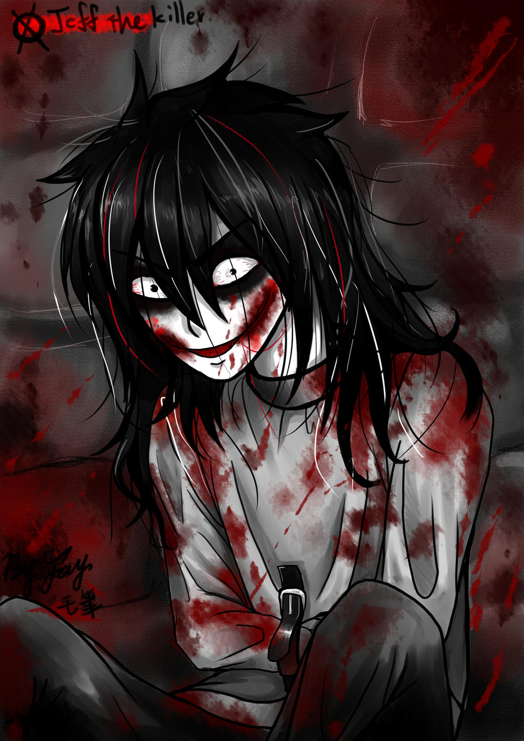 Jeff the killer by JinfanFay