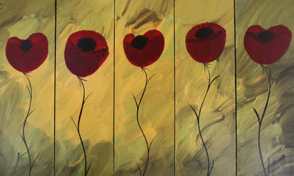 poppies 100508 by lilianagraham