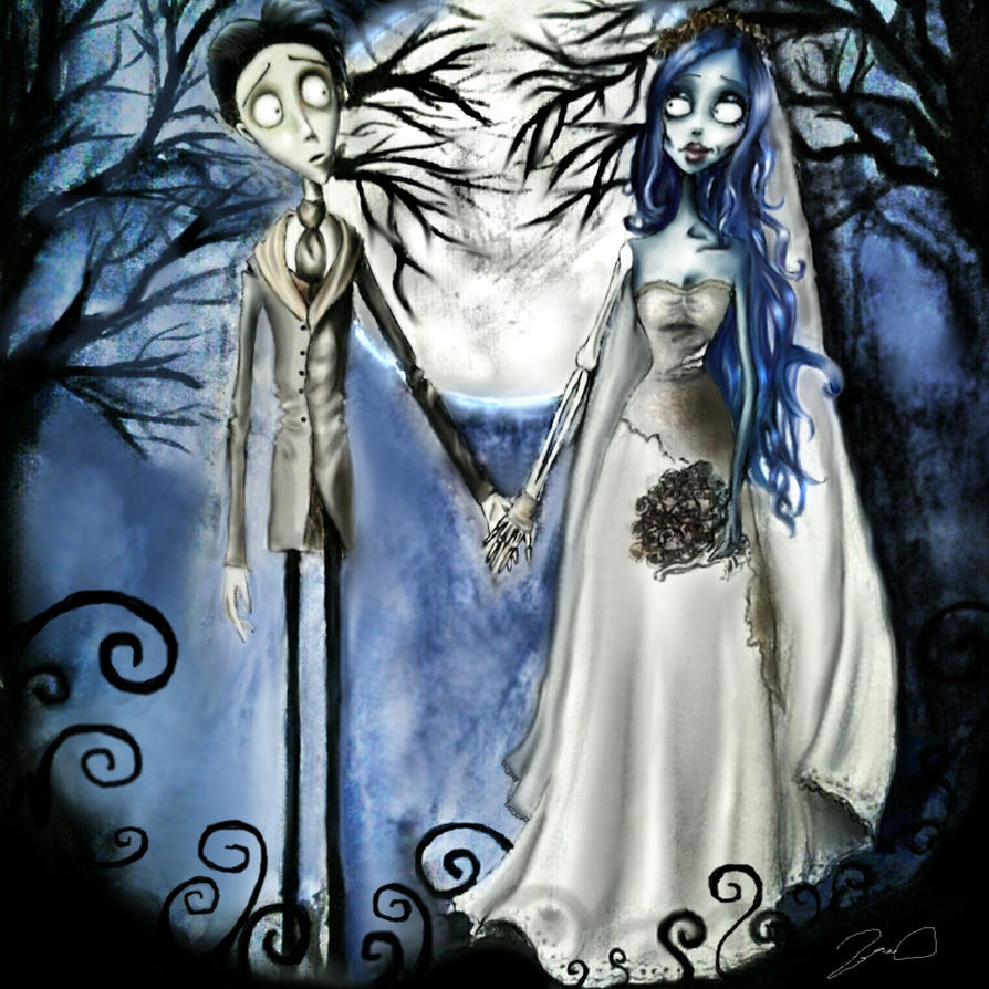 Corpse bride by PyrroB on DeviantArt