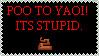 Stamp - Poo to Yaoi by GiantPurpleCat