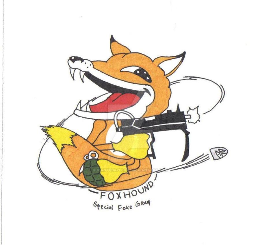 Foxhound Logo By GiantPurpleCat