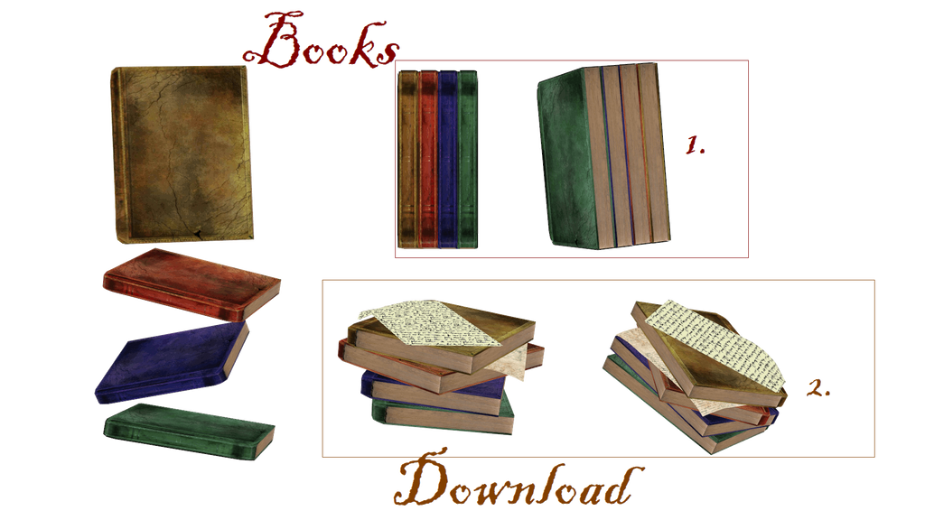 [MMD] Books by LoreneMMD