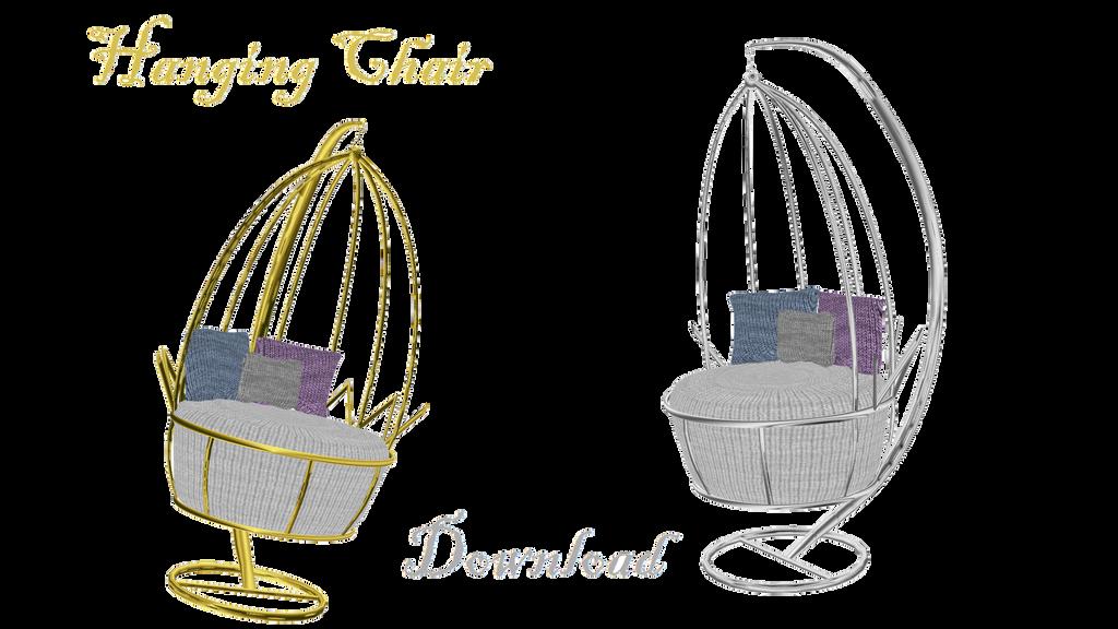 [MMD] Hanging Chair by LoreneMMD