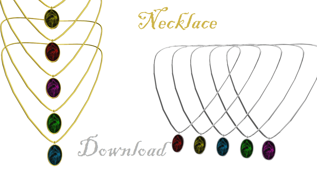[MMD] Necklace by LoreneMMD