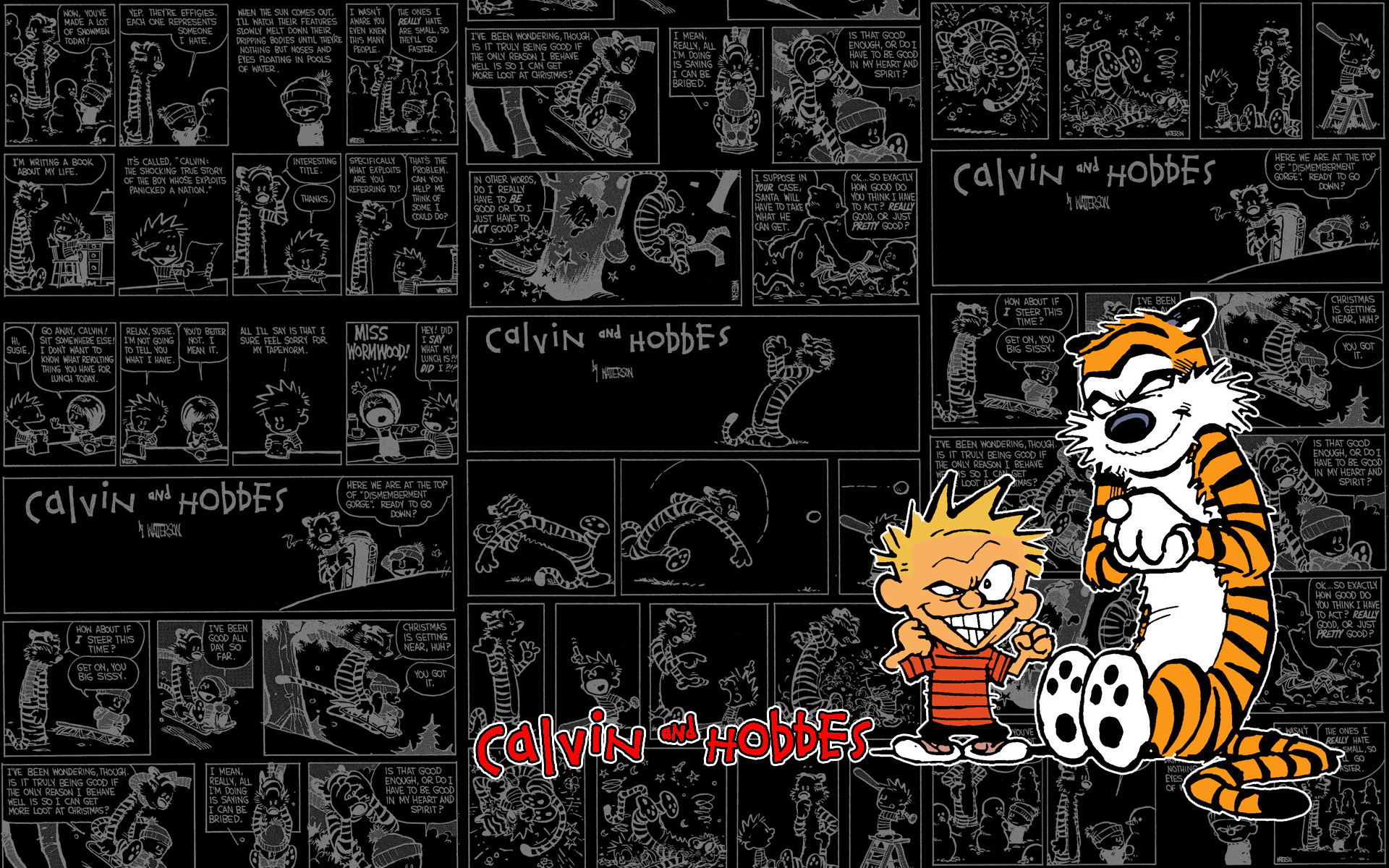 A Tribute to Calvin and Hobbes by WordofWar