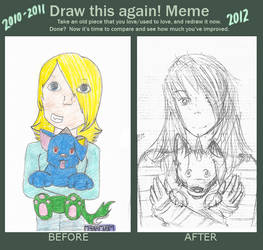 Draw this again meme by HarvestMoo