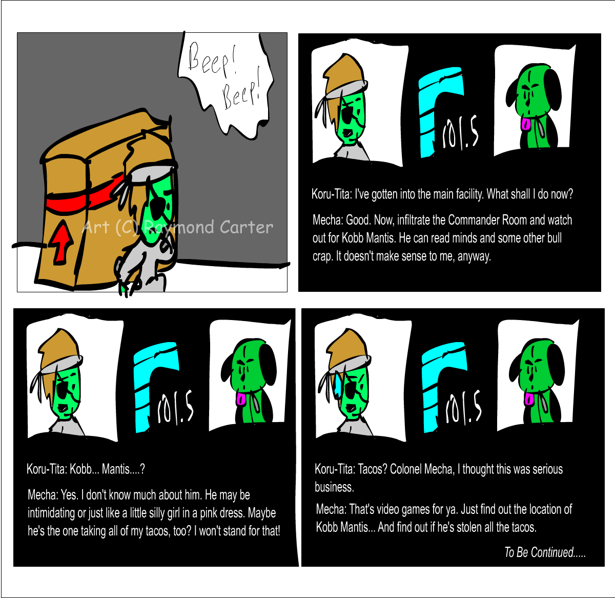Metal Gear: CM, Pg 1 by CrashFreak
