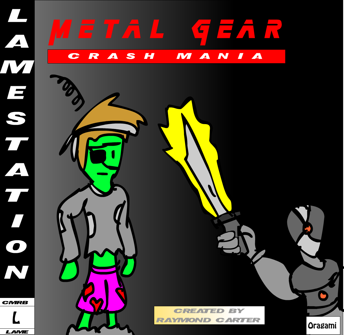 Metal Gear: CM, Cover by CrashFreak