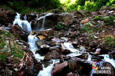 Waterfall..Shugran, Pakistan by sheze