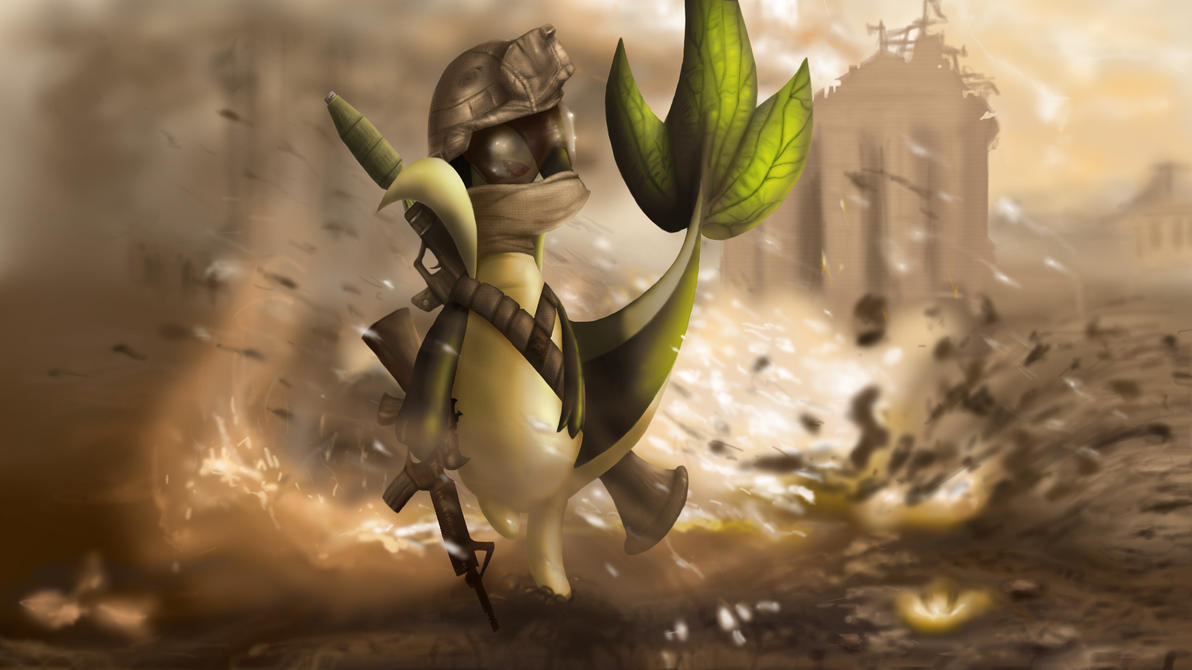 MW2 Snivy by chazolave