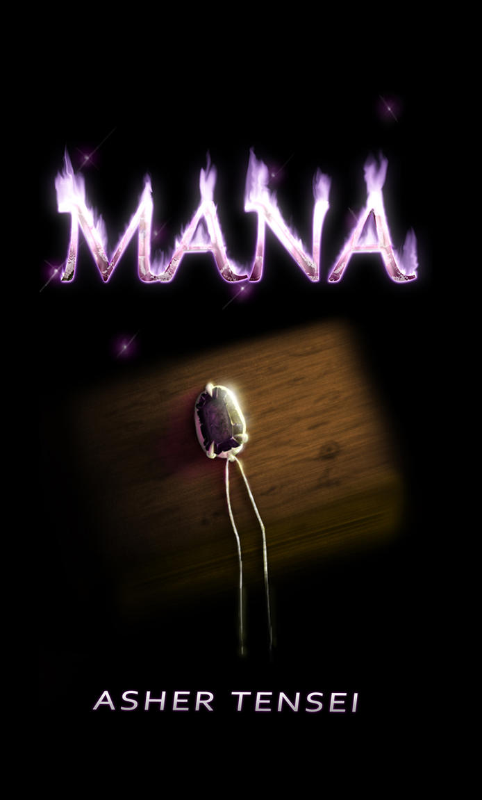 Mana Book Cover by chazolave