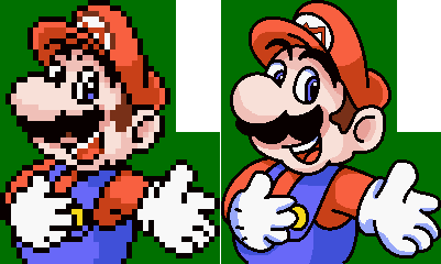 Mario and Wario - HD Quality
