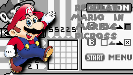 Regular Mario in Mario's Picross (Available Now!)