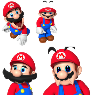 SMG4 Mario HD Renders (Uncompressed)