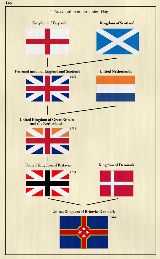 Amazoncom  British UK Royal Standard Flag  3 foot by