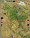 Map of Noramerika