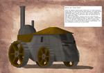 Mobile gun 'Steam Turtle'