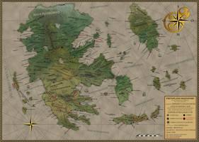 The Celesian Empire by Sapiento