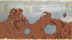 Map of Mars by Sapiento