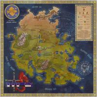 Ynchong Empire trade map by Sapiento