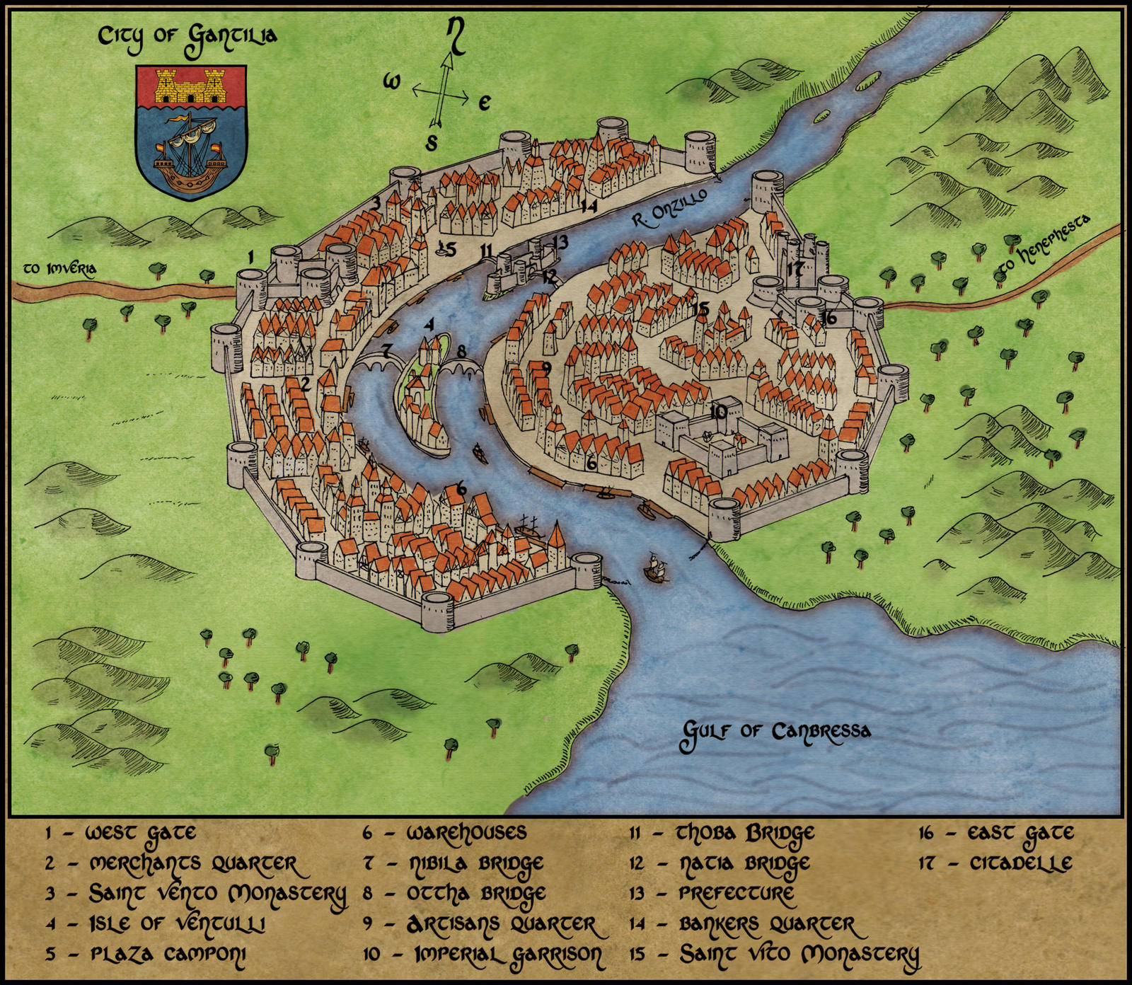 City of Gantilia by Sapiento
