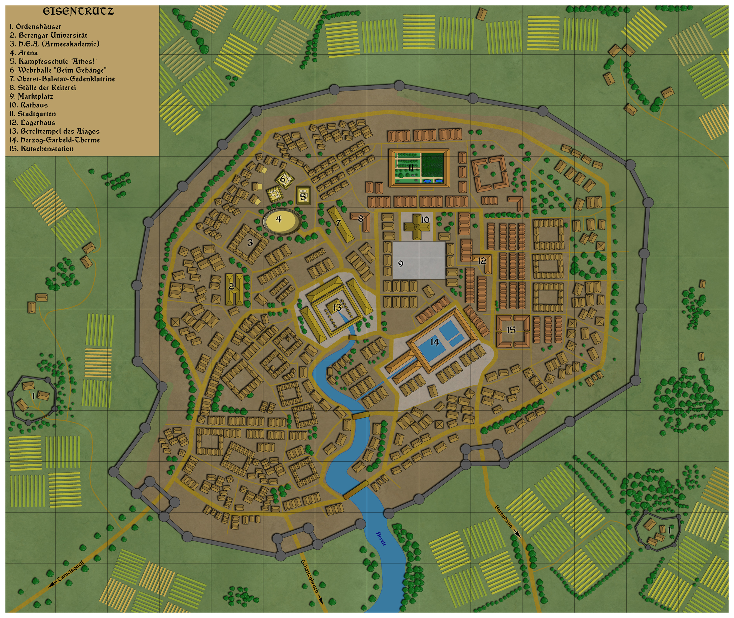 Freelance artist/cartographer available for commissions