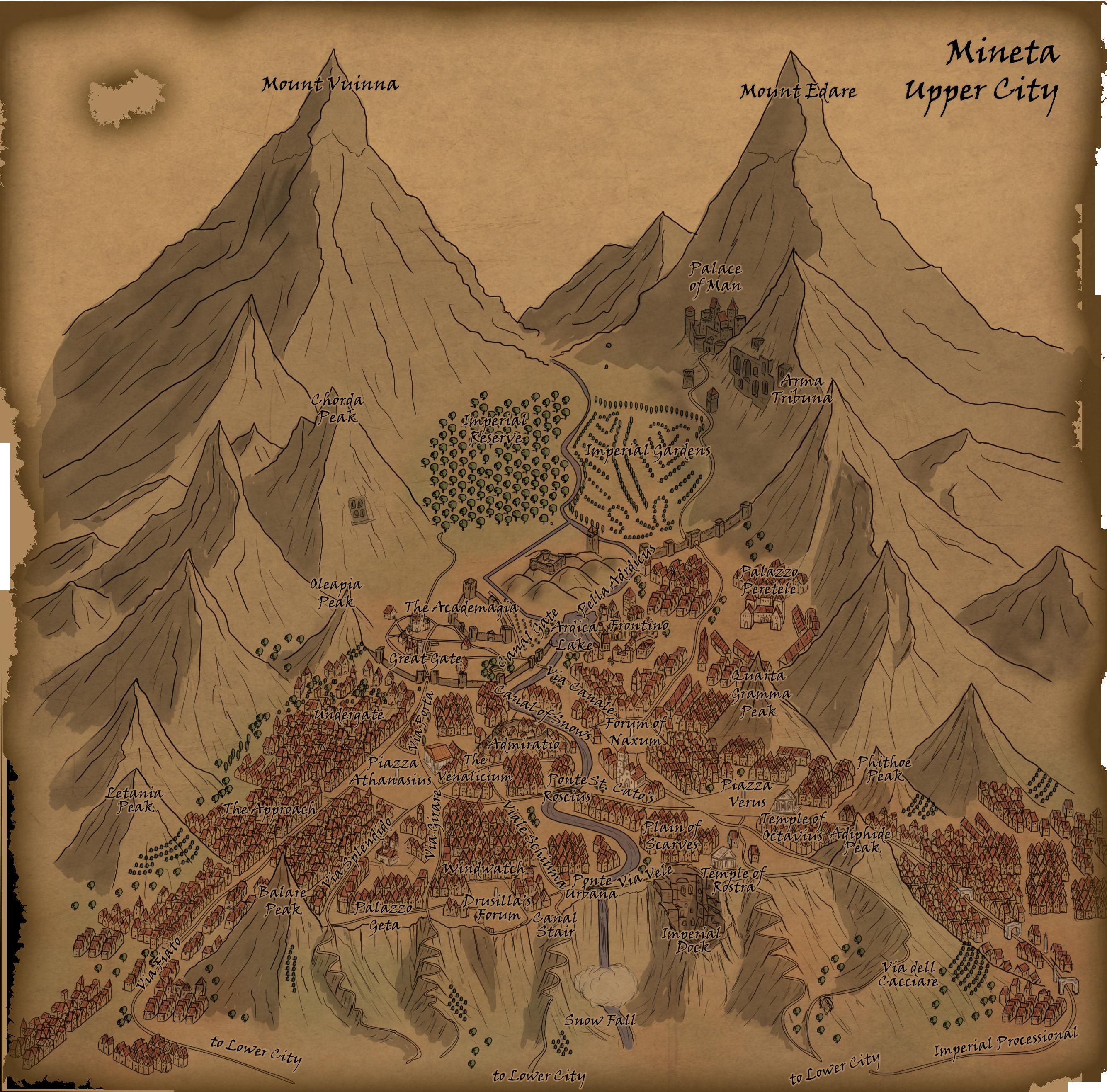 Academagia: Mineta by Sapiento