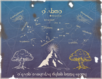 Middle Earth Star Map