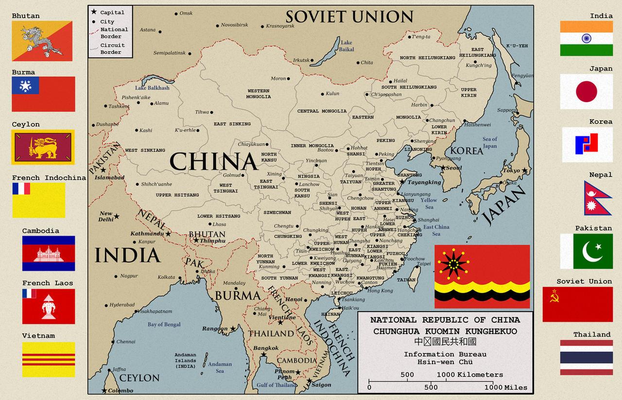 Alternate fascist China by Sapiento